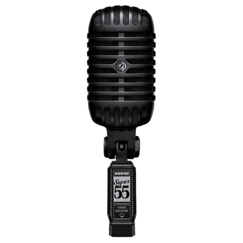MICROFONO SHURE SUPER55BLK BOBINA MOVIL - JP Musical