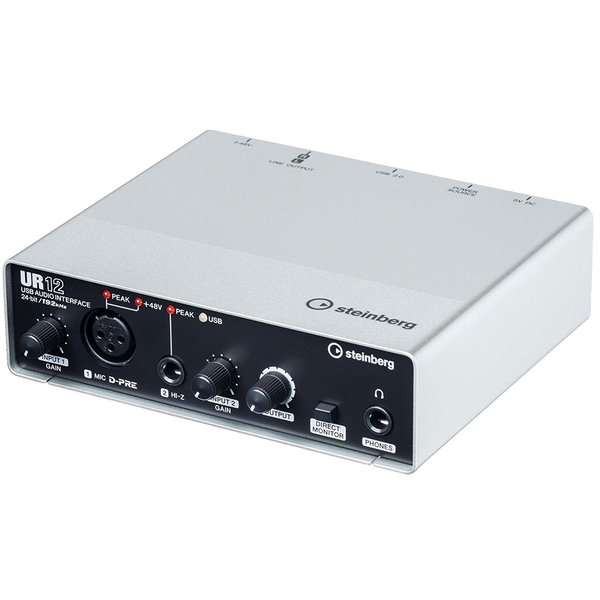 INTERFAZ DE AUDIO STEINBERG UR12
