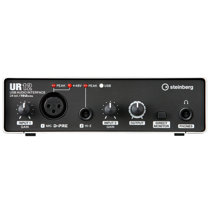 INTERFAZ DE AUDIO STEINBERG UR12 - JP Musical