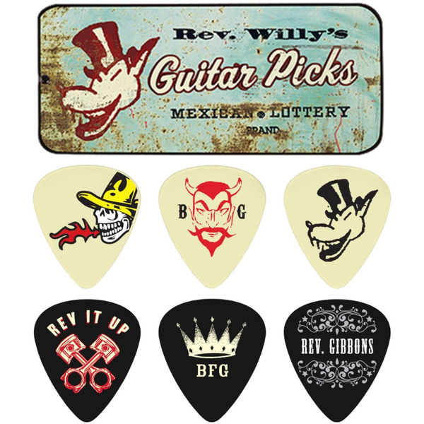 PUAS DUNLOP RWT02M REV WILLY'S MEXICAN - JP Musical
