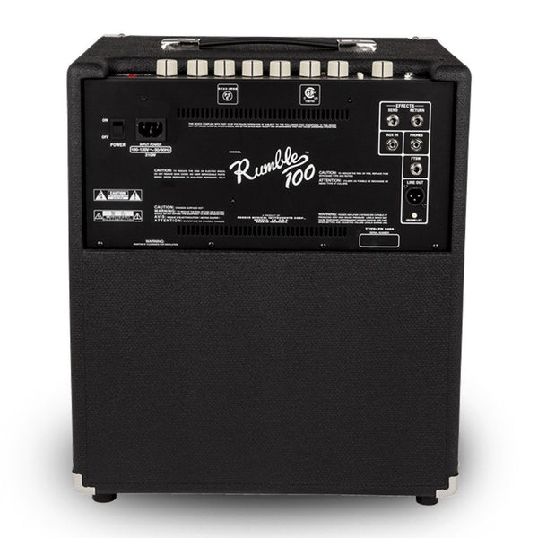 AMPLIFICADOR FENDER 2370400000 RUMBLE 100