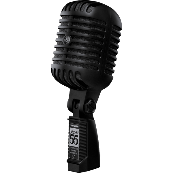 MICROFONO SHURE SUPER55BLK BOBINA MOVIL