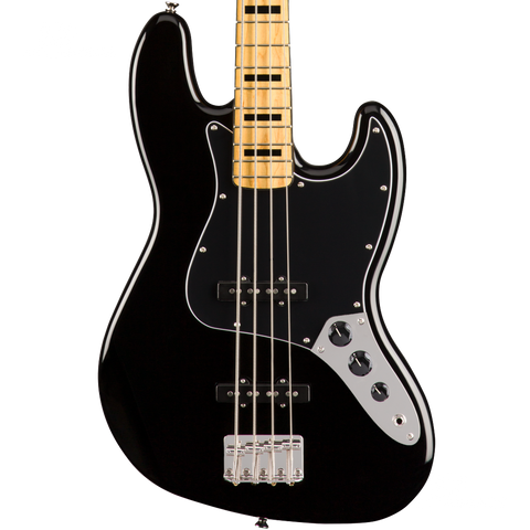 BAJO ELECTRICO SQUIER 0374540506 SQ CV 70S JAZZ BASS MN BLK - JP Musical