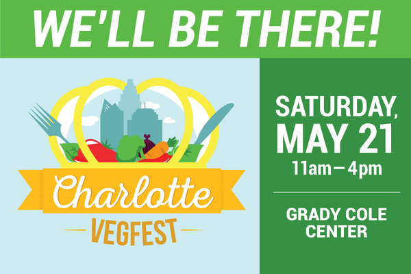 You're Invited to Charlotte VegFest!