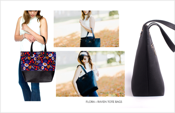 Starling & Ivy Lookbook Page 3 Tote Bags