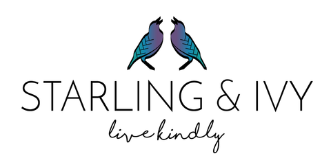 Starling & Ivy Live Kindly Company Mantra