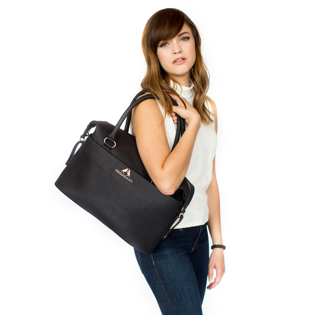 Raven Convertible Satchel