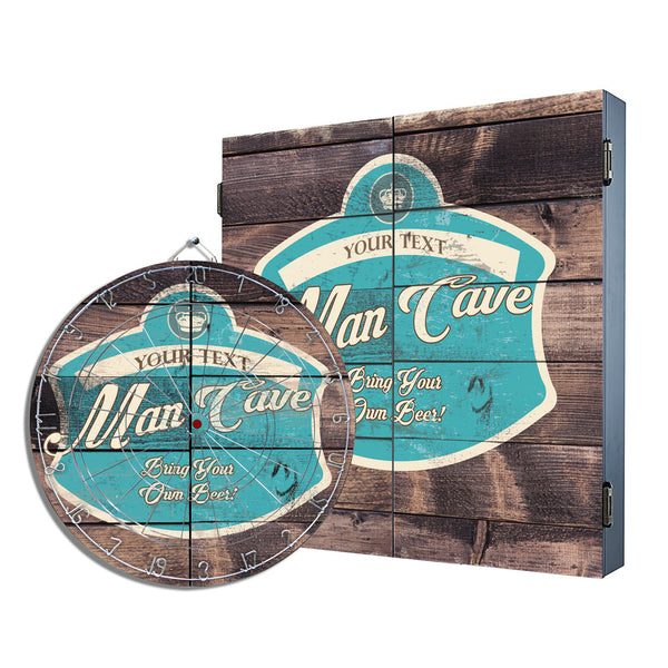 Brew-sky Man Cave Cabinet Combo