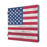 American Flag Cabinet Combo