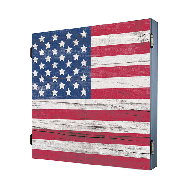American Flag Cabinet