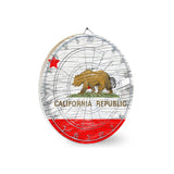 California Republic Dart Board