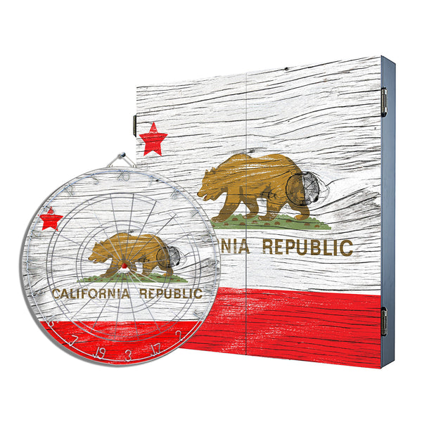 California Republic Cabinet Combo