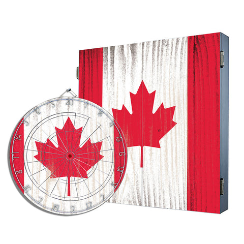 Canadian Flag Cabinet Combo