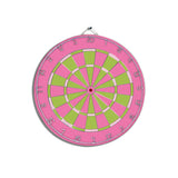 Flamingo Pink Dart Board