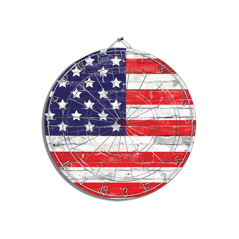 USA Flag Dart Board