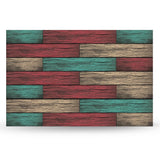 Aqua Marine Rustic Wood Backboard