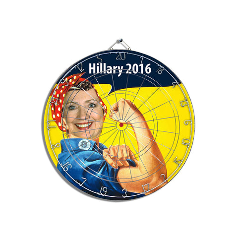 Hillary Can Do It Dart Board