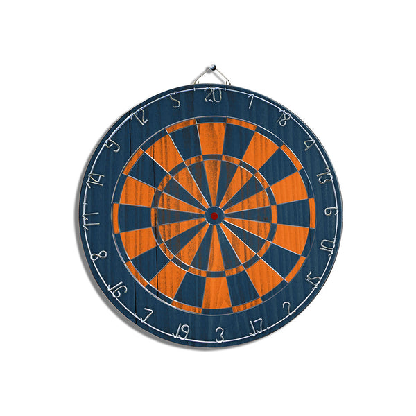 Bronco Blue Dart Board