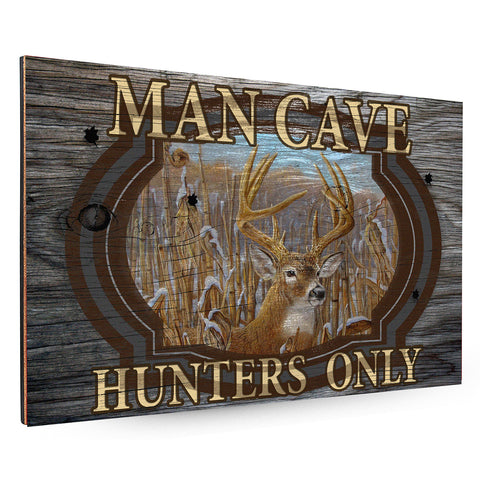 Hunters Man Cave Backboard