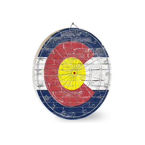 Colorado Brick Dart Board