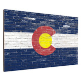 Colorado Brick Backboard Combo