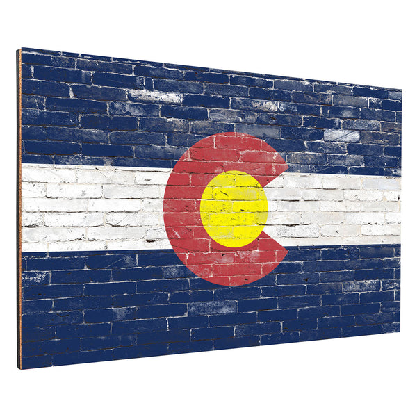 Colorado Brick Backboard