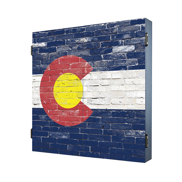 Colorado Brick Cabinet