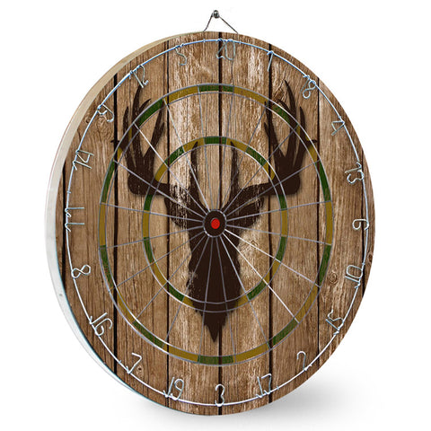 Deer Head Mancave Dart Board