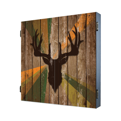 Deer Head Mancave Cabinet