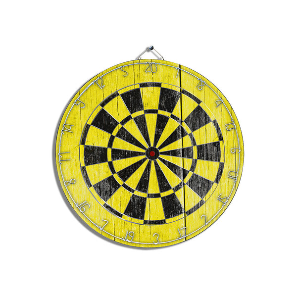 Black & Yellow Dart Board