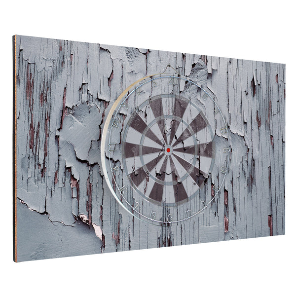 Gray Wooden Backboard Combo