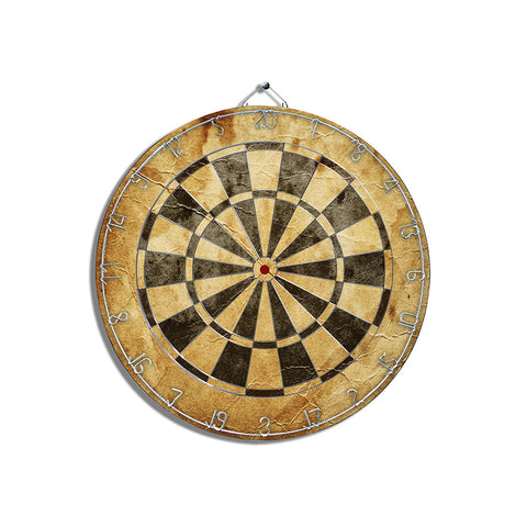 Black & Tan Dart Board