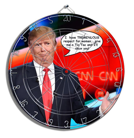 Trump xoxo Dartboard
