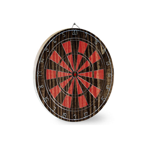 Black & Red Dart Board