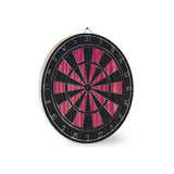 Black & Pink Dart Board