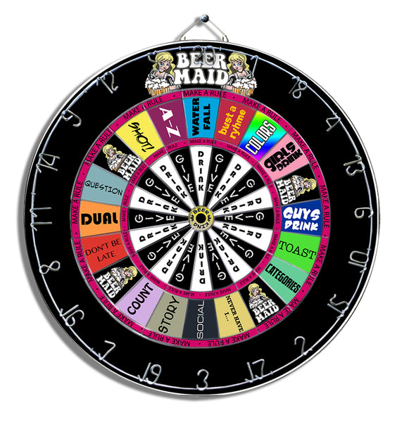 Beer Maid Dart Board