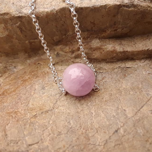 Kunzite Intention Necklace