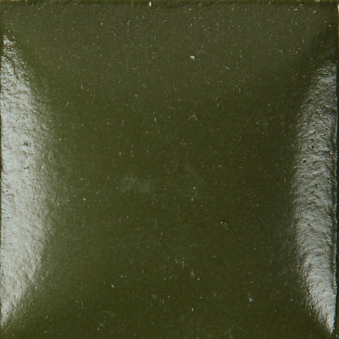 Duncan OS487 Olive Moss Opaque Bisq-Stain, 2 oz
