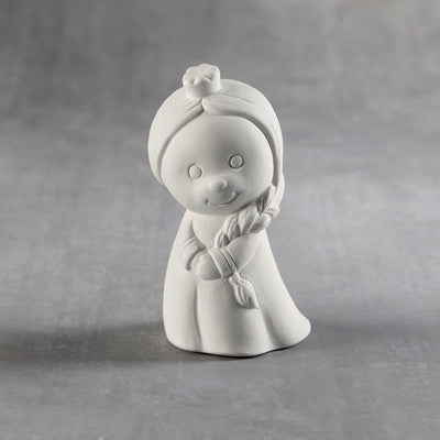 Duncan 35975 Bisque Tiny Tot Ice Princess - Sounding Stone