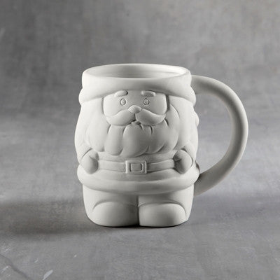 Duncan 35989 Bisque Santa Mug - Sounding Stone