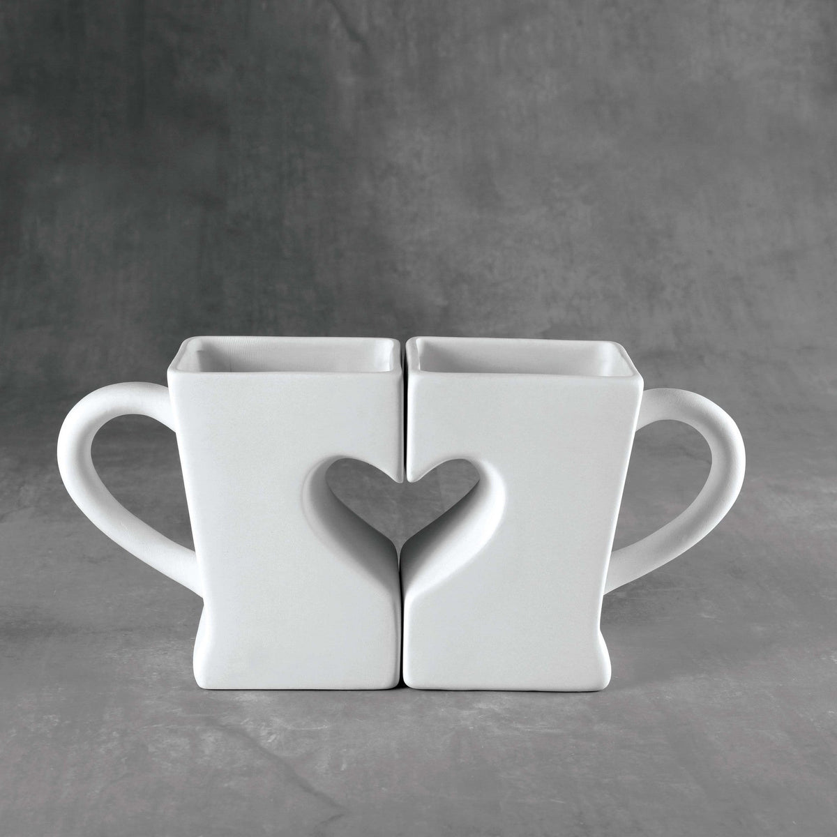 Duncan - 37093 Bisque Two Become One Mug - Sounding Stone