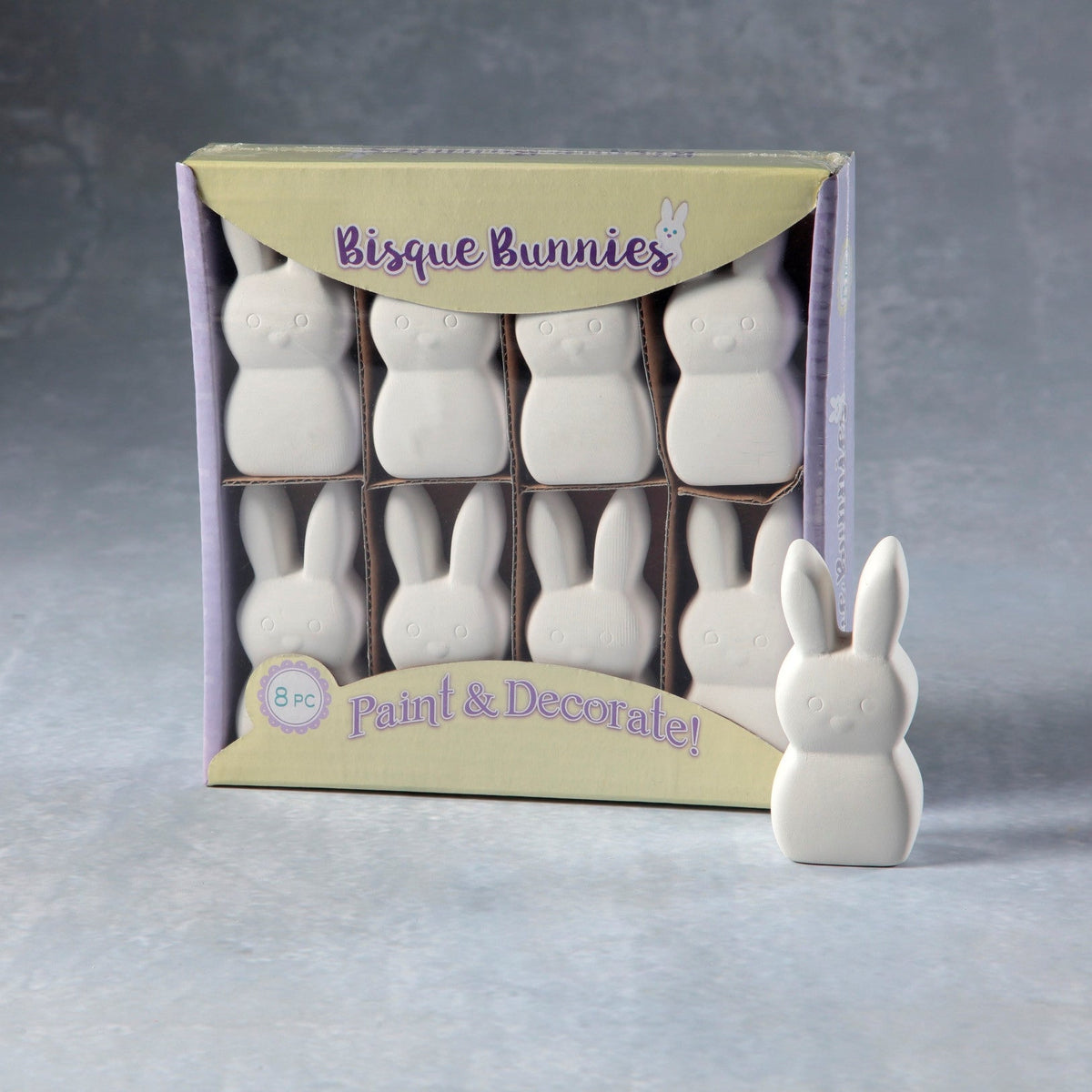 Duncan - 37210 Bisque Bunnies 8 pack - Sounding Stone