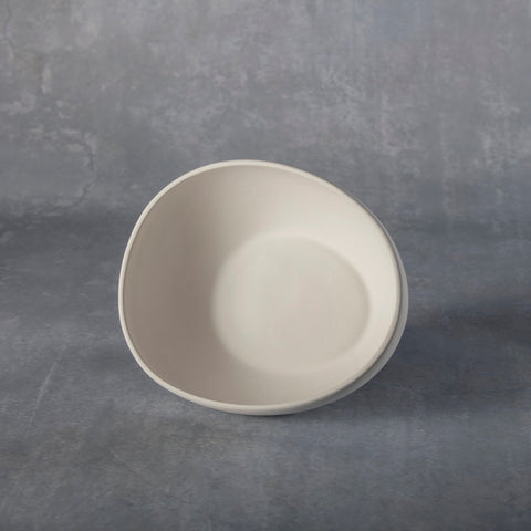 Duncan - 37207 Bisque Small Egg Bowl - Sounding Stone