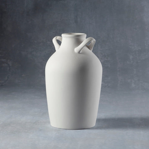 Duncan - 37214 Bisque Double Handled Vase - Sounding Stone