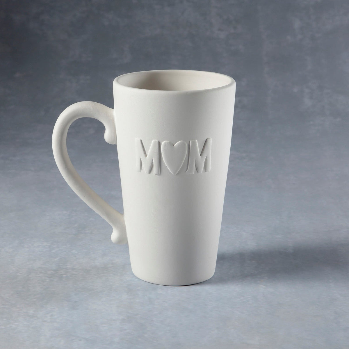 Duncan - 37213 Bisque Mom Heart Mug - Sounding Stone