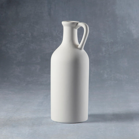 Duncan - 37215 Bisque Long Neck Handled Vase - Sounding Stone