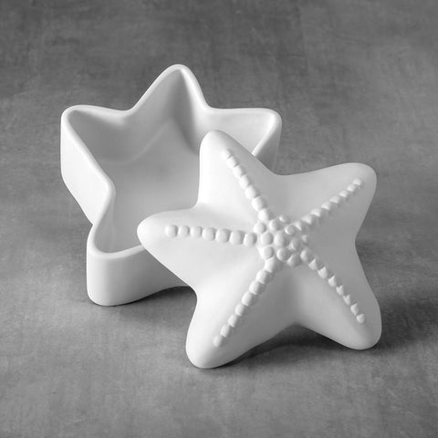 37485 Bisque Starfish Box