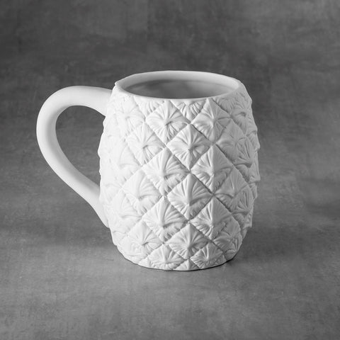 Duncan - 37479 Bisque Pineapple Mug - Sounding Stone