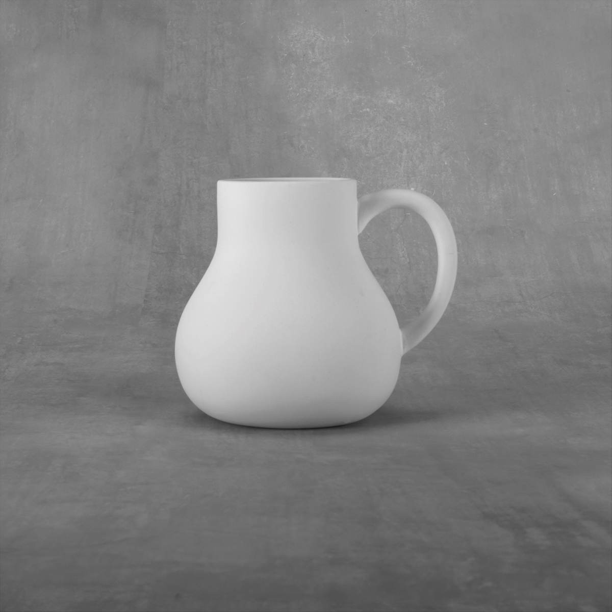 Duncan 38099 Bisque Curvy Bottom Mug 24 oz