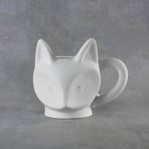 Duncan 38102 Bisque Fox Mug 14 oz